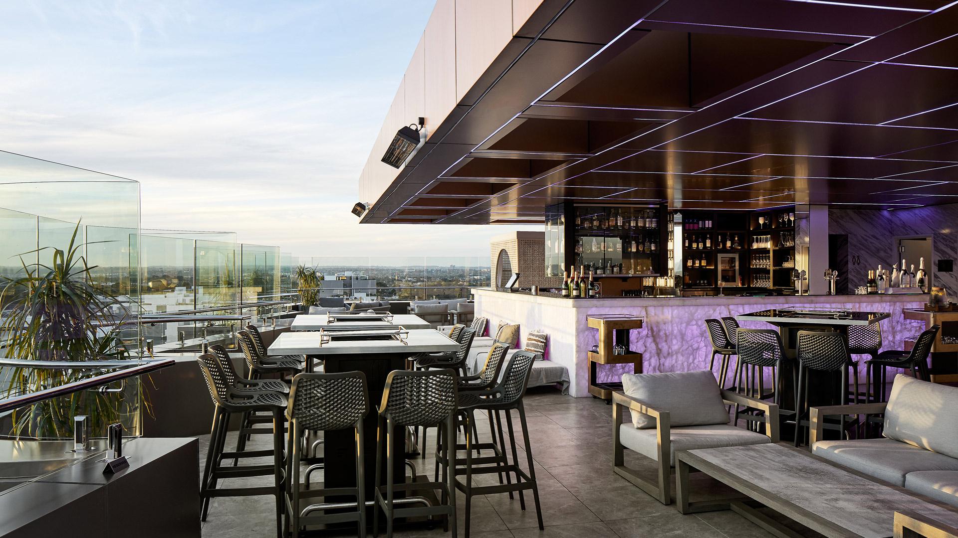 Conquest™ sky bar lounge