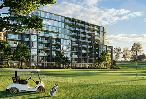 Conquest™ golf frontage